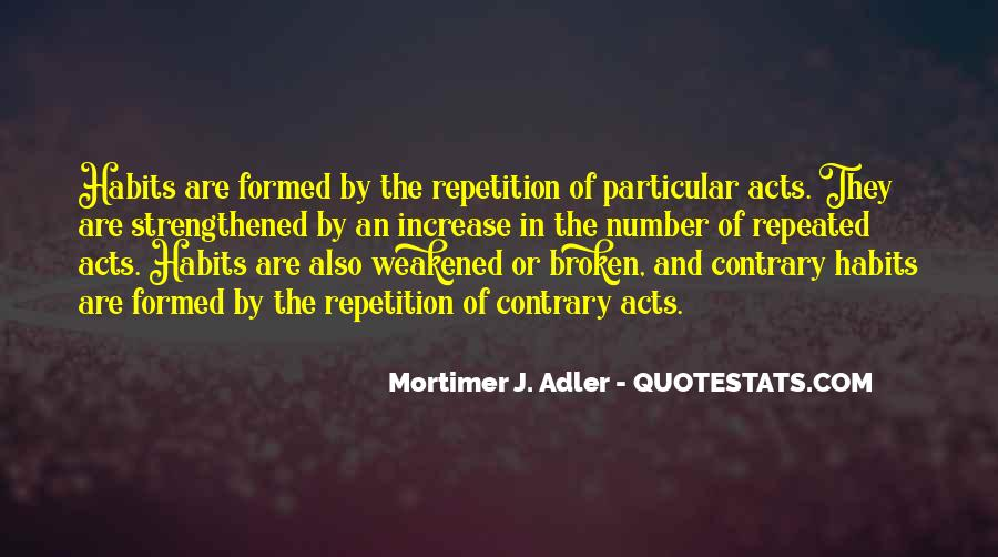 Quotes About Repetition #217974