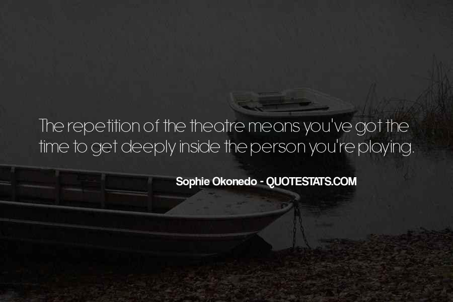 Quotes About Repetition #238695