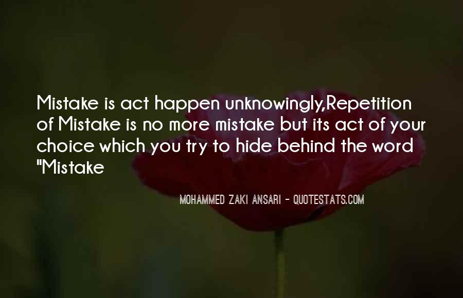 Quotes About Repetition #25843