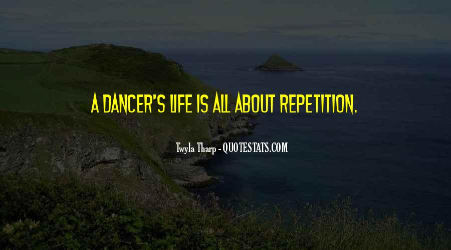 Quotes About Repetition #287008