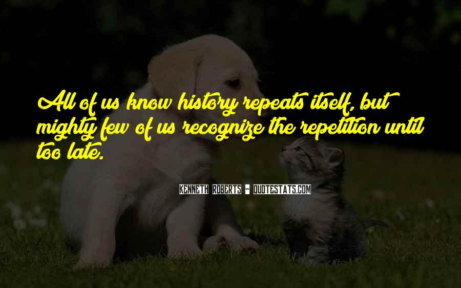 Quotes About Repetition #297850
