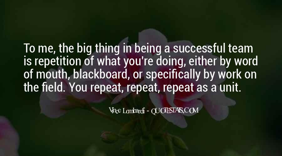 Quotes About Repetition #336607