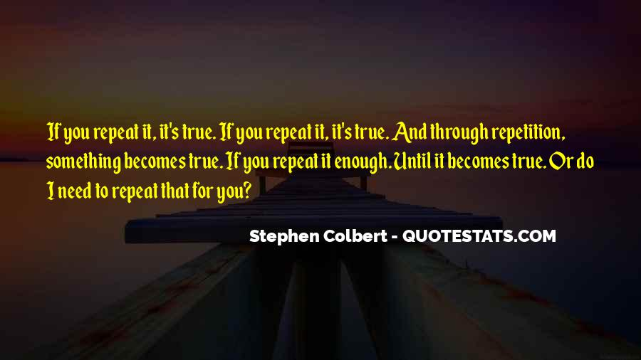Quotes About Repetition #360100
