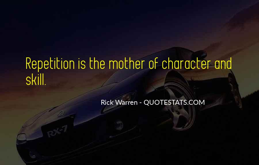 Quotes About Repetition #38024