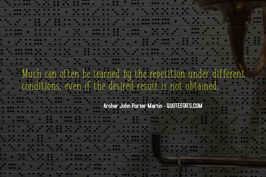 Quotes About Repetition #45968