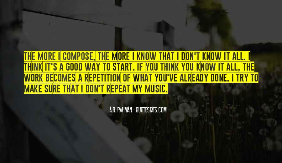 Quotes About Repetition #56666