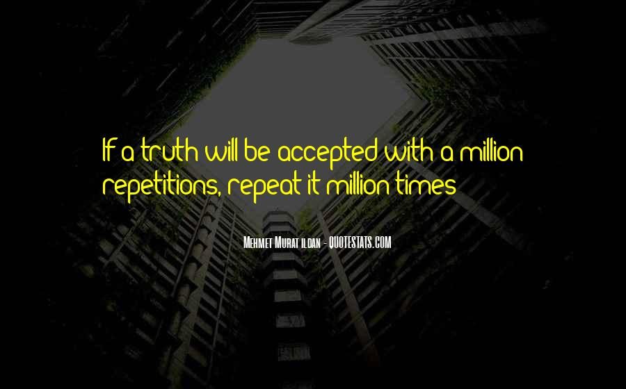Quotes About Repetition #63832