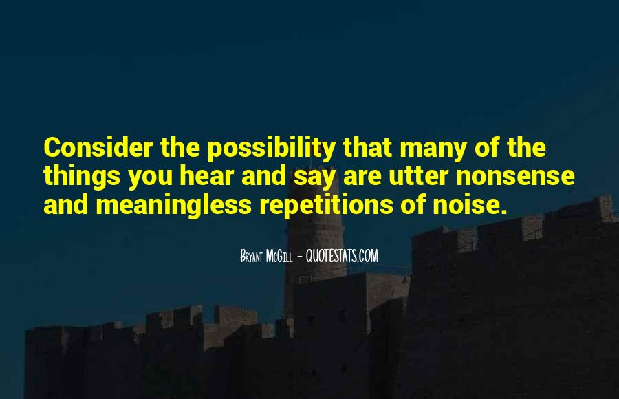 Quotes About Repetition #73232