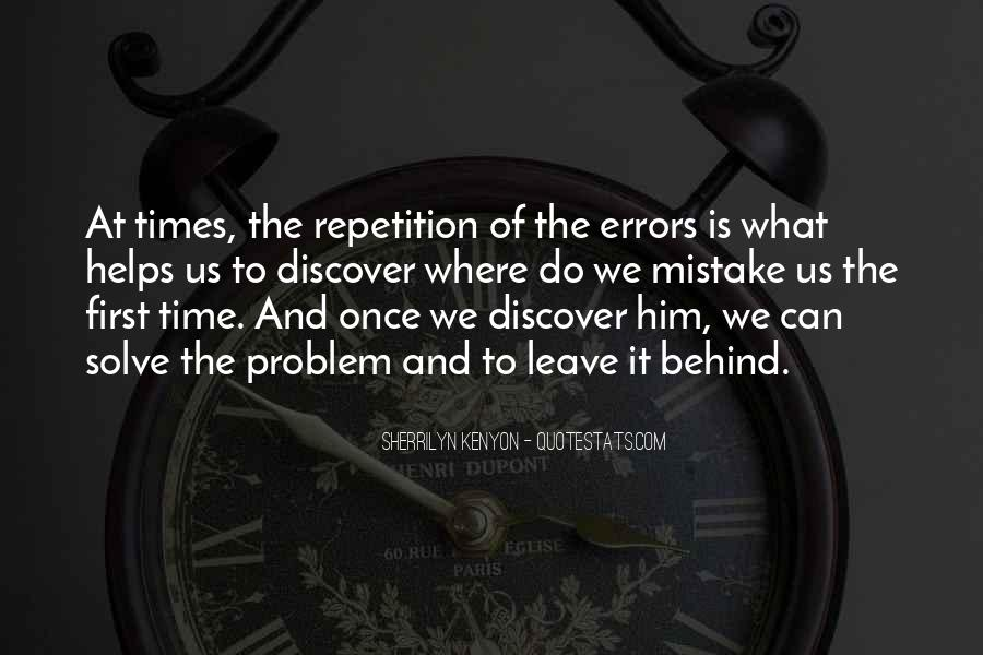 Quotes About Repetition #84521
