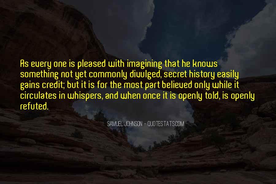 Divulged Quotes #748394
