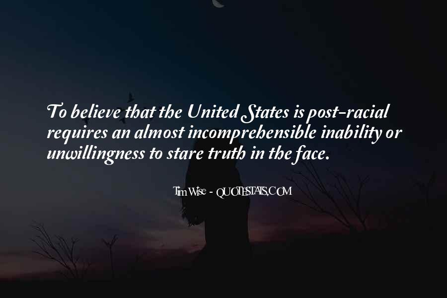 Quotes About Face The Truth #190762