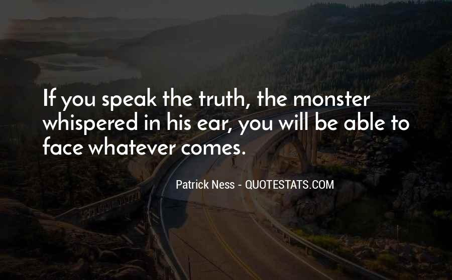 Quotes About Face The Truth #284792