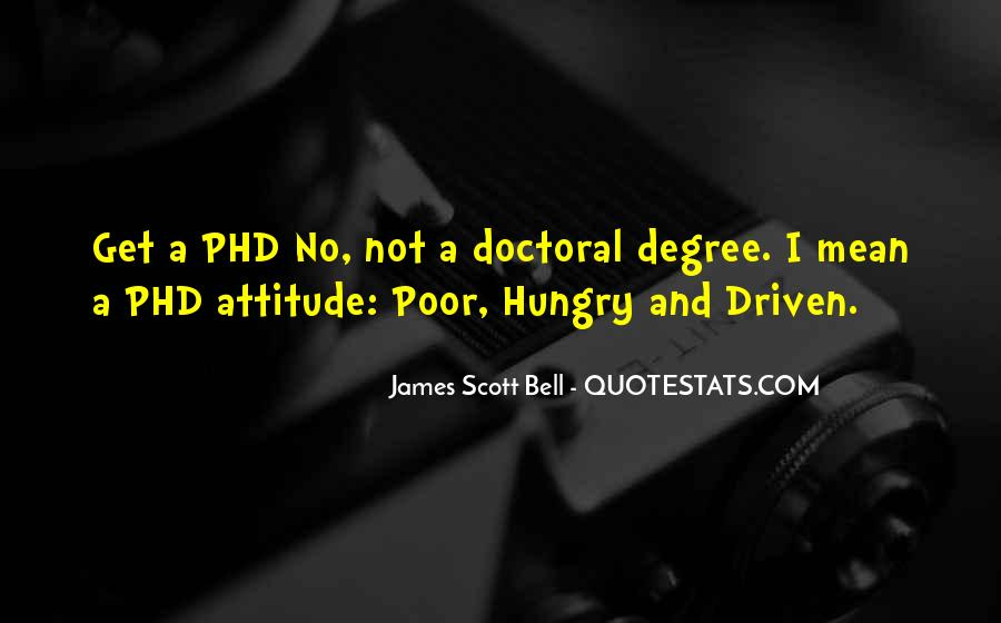 Doctoral Quotes #1463819