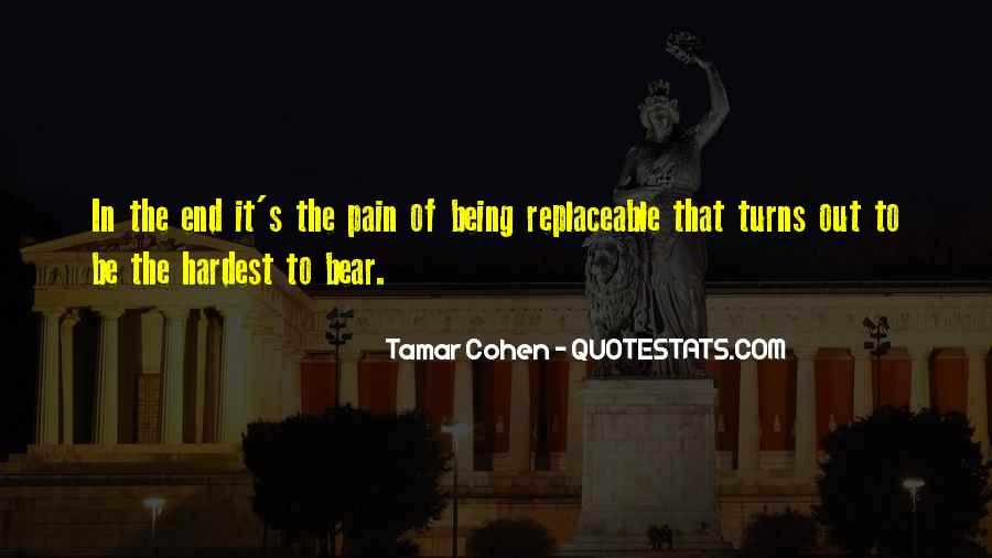 Quotes About Being Replaceable #1790832