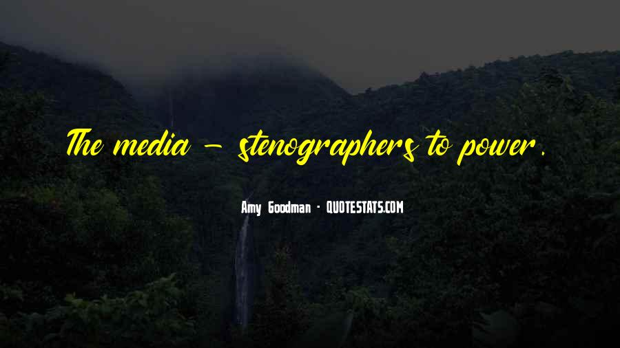 Quotes About Truth In The Media #105217