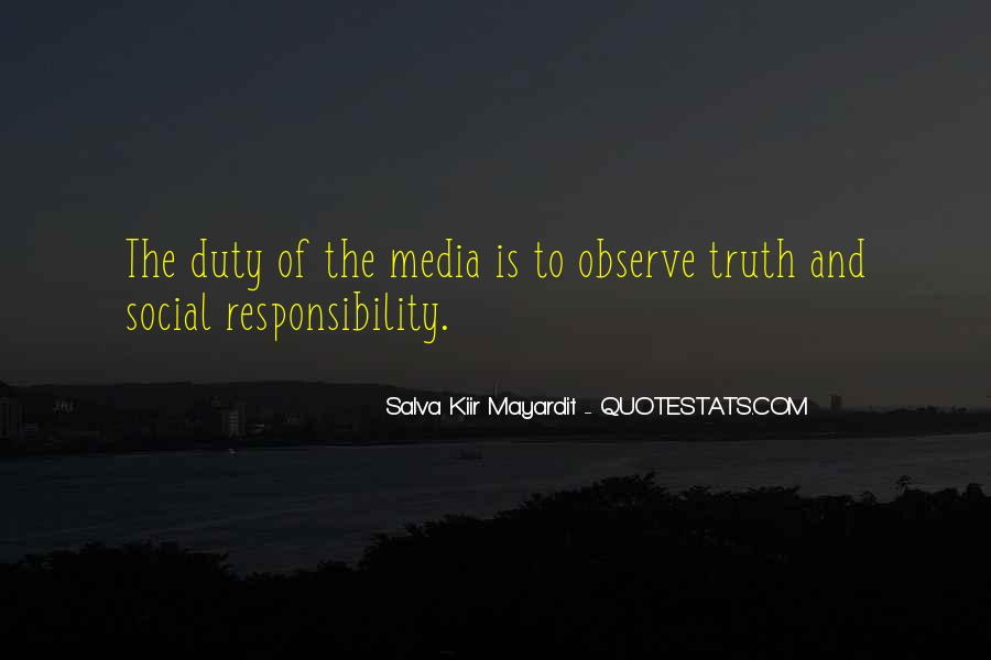 Quotes About Truth In The Media #1197083
