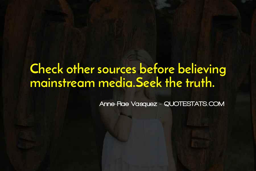 Quotes About Truth In The Media #1199043