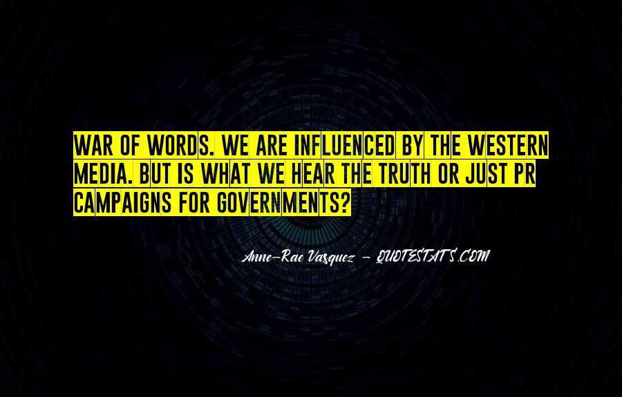 Quotes About Truth In The Media #1482685