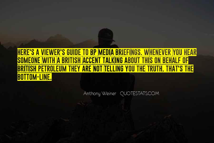 Quotes About Truth In The Media #1531859