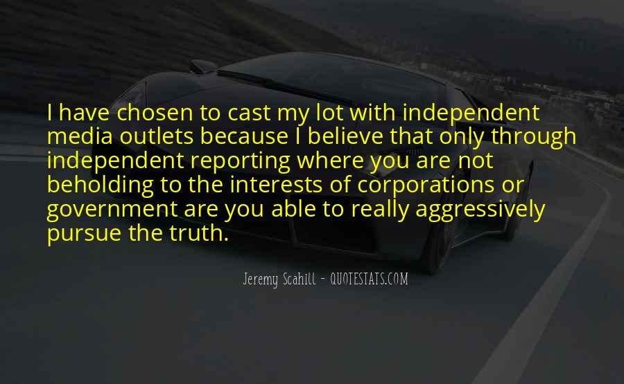 Quotes About Truth In The Media #1537161