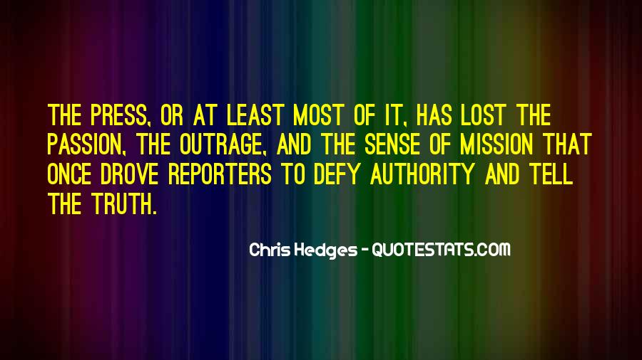 Quotes About Truth In The Media #1757565