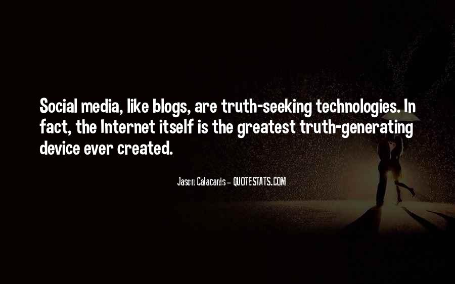 Quotes About Truth In The Media #334810