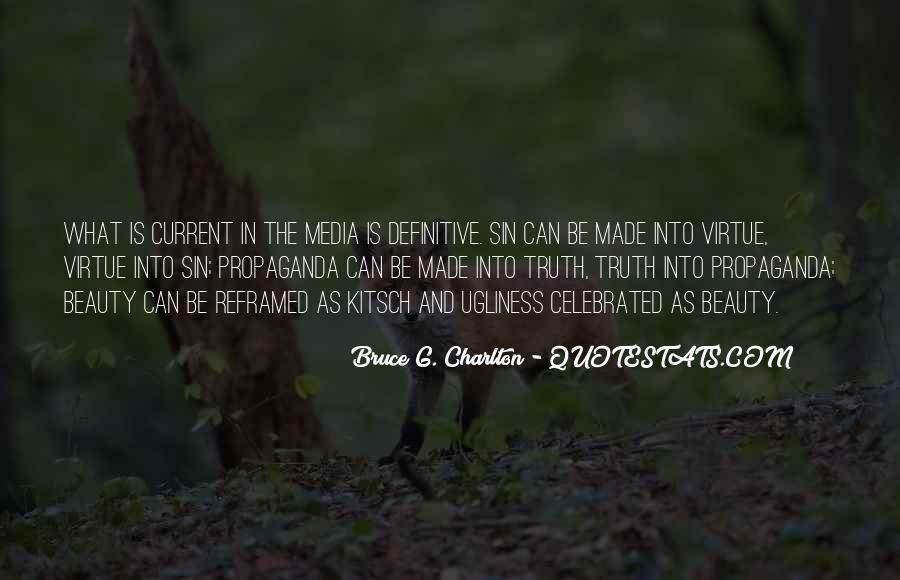 Quotes About Truth In The Media #748666