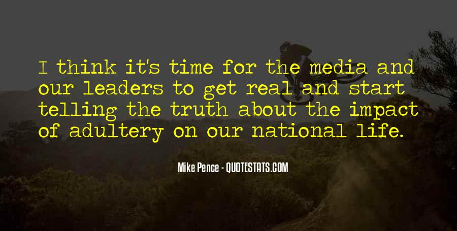 Quotes About Truth In The Media #795113