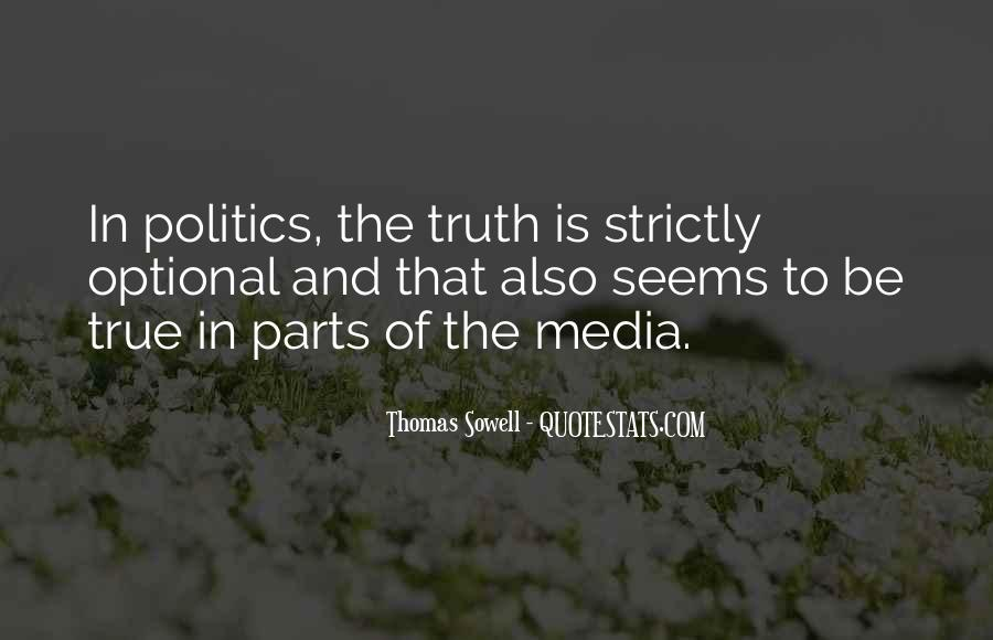 Quotes About Truth In The Media #85906