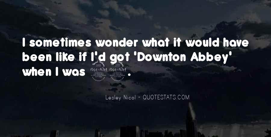 Downton's Quotes #1005641