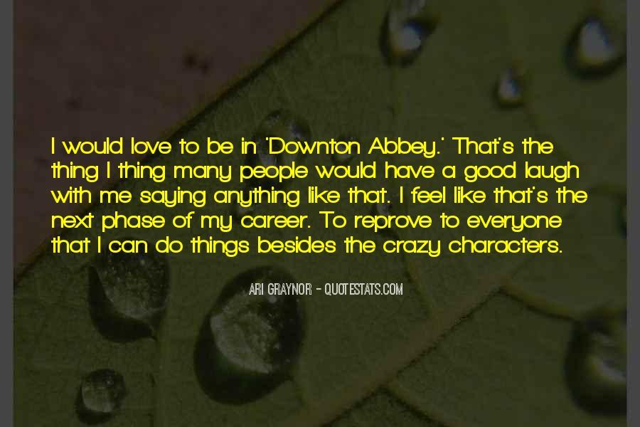 Downton's Quotes #1636160