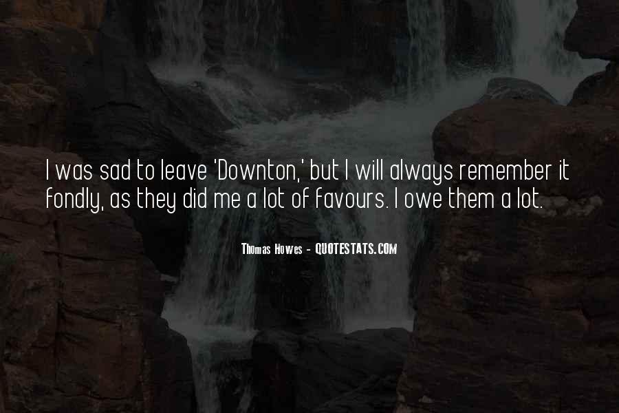 Downton's Quotes #1729461