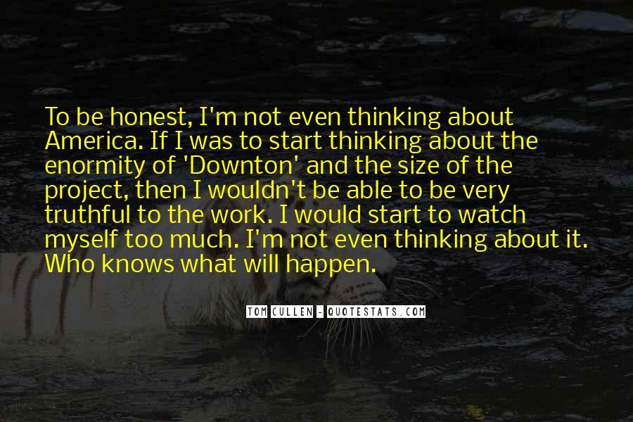 Downton's Quotes #277902