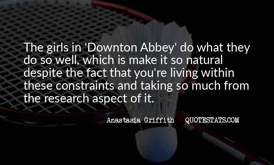 Downton's Quotes #599805