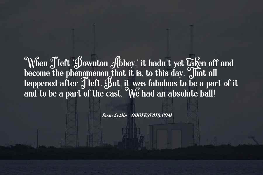 Downton's Quotes #750019