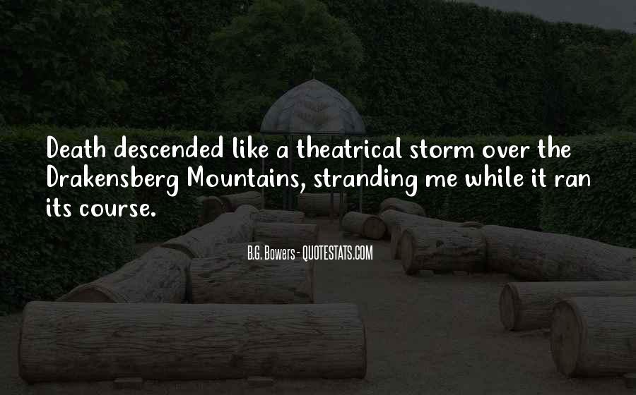 Drakensberg Quotes #1172293