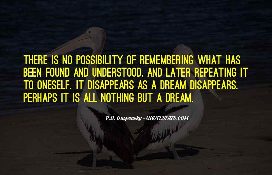 Dream'd Quotes #157984
