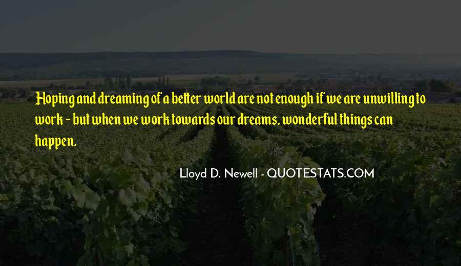 Dream'd Quotes #272538