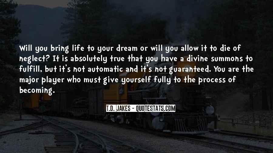 Dream'd Quotes #322481