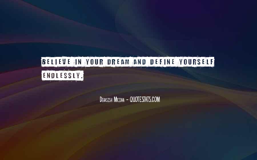Dream'd Quotes #449447