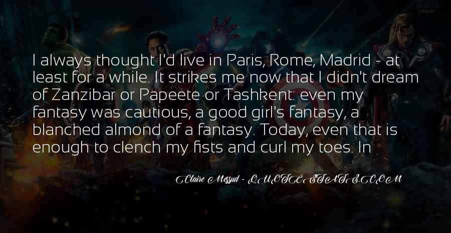 Dream'd Quotes #45567