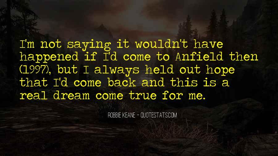 Dream'd Quotes #74696