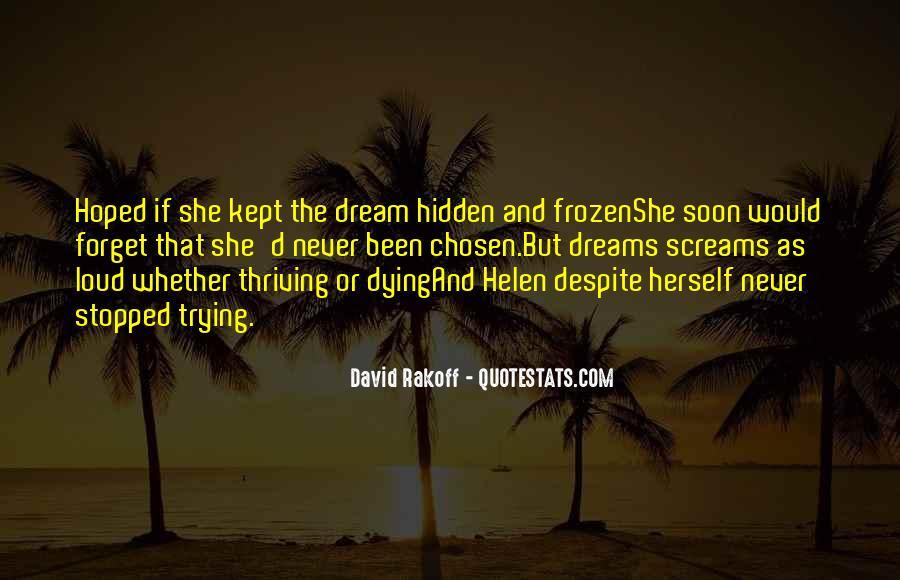 Dream'd Quotes #76828