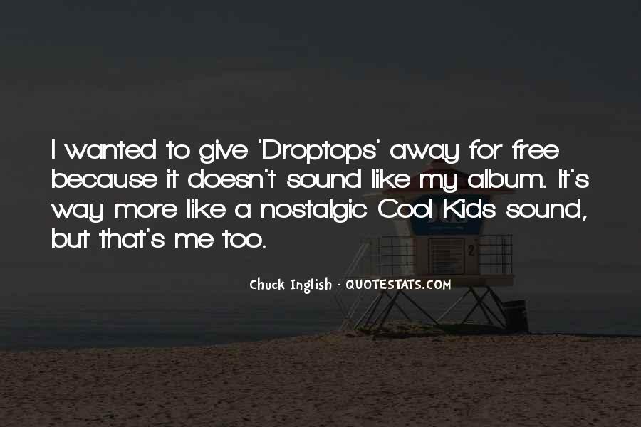 Droptops Quotes #1361660