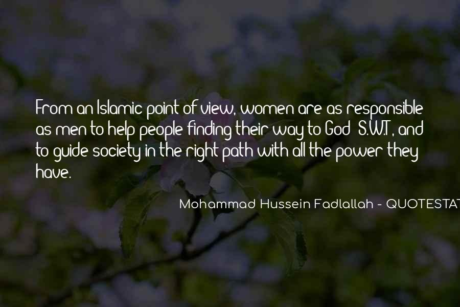 Quotes About Islamic Society #24490