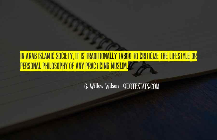 Quotes About Islamic Society #380305