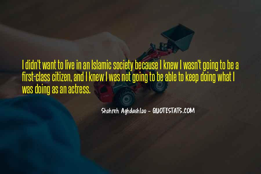 Quotes About Islamic Society #426447