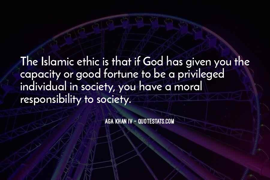 Quotes About Islamic Society #644518