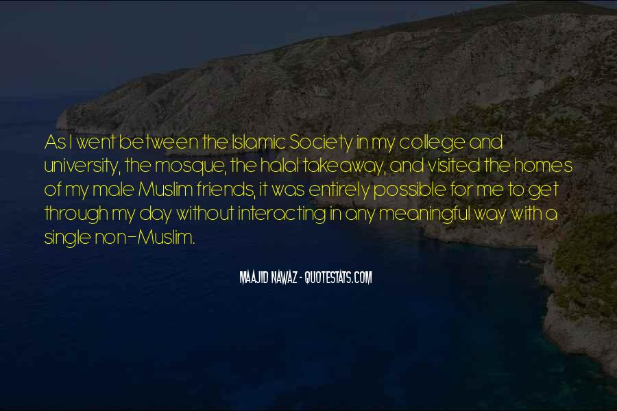 Quotes About Islamic Society #769843