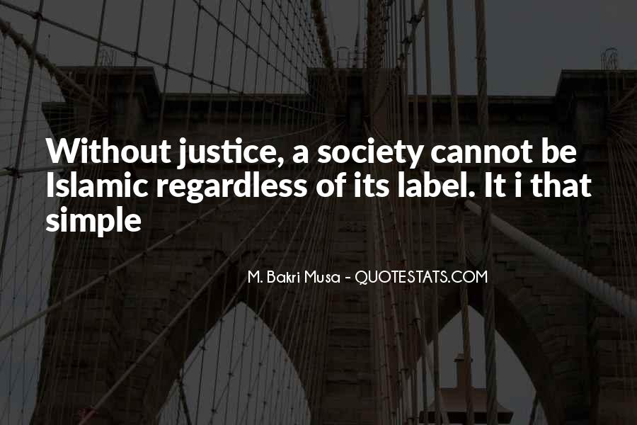 Quotes About Islamic Society #946974